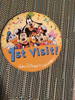 Disney Pin-1st Visit for Sale in Covina,  CA