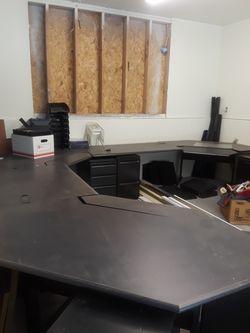 12' x 10' corner desk system with storage for Sale in Auburn,  WA