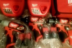 Milwhaukee: Impact Driver, Drill Driver, M12 Batteries for Sale in Apple Valley, CA