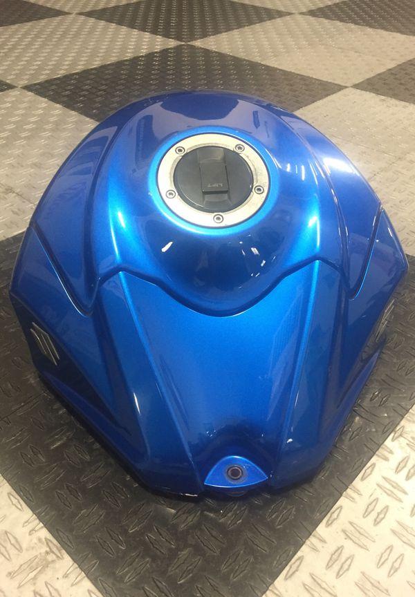 Suzuki Motorcycle Fuel Tank Blue