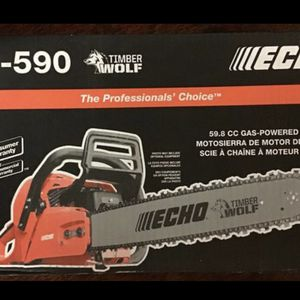 """Echo CS 590 Chainsaw 20"""" BRAND NEW for Sale in Tacoma, WA"""