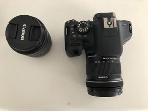CANON REBEL T6i w/ 10-18mm And 18-55 LENSES for Sale in Pasadena, TX