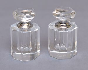 Oleg Cassini Jackie Kennedy Cut Crystal Perfume Set for Sale in Alexandria, VA