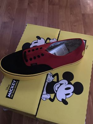 Minnie s mouse bow vans toddler 8.5 Disney for Sale in Fullerton 9a7ec8d6a