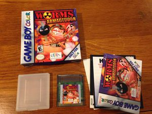 Worms Armageddon, Gameboy Color, Complete in box (CiB) for Sale in Everett, WA