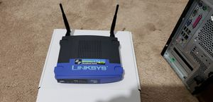 Linksys router used in great condition with box for Sale in Hoffman Estates, IL