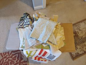 Box of variety fabrics for Sale in CHESAPEAK BCH, MD