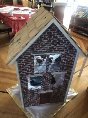 50 inch hand made doll house for Sale in Arlington, VA