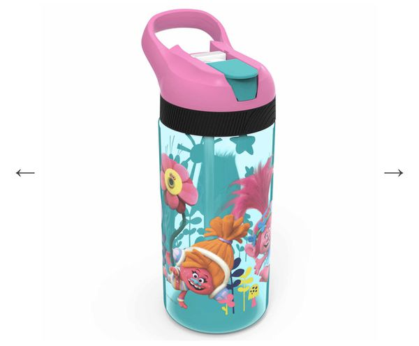 Trolls Water Bottles - Poppy, Branch & DJ Suki