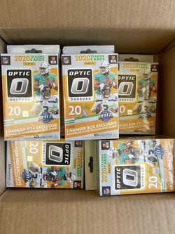 2020 NFL Donruss Optics Football Trading Card Hanger Box for Sale in Anaheim,  CA