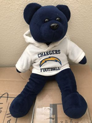 CHARGERS FOOTBALL 🏈 TEDDY BEAR for Sale in Rancho Cucamonga, CA