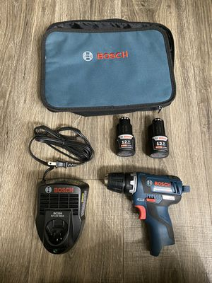 Bosch PS32-02 Brushless 12V Drill Kit for Sale in Cupertino, CA