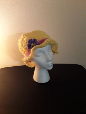 Spring time crochet hats for Sale in Englewood, CO