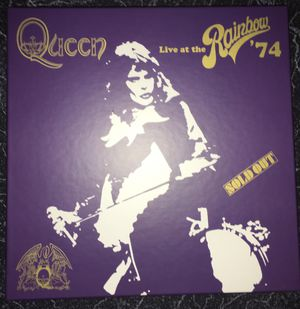 Queen Live at the Rainbow Deluxe Box Set for Sale in Springfield, VA