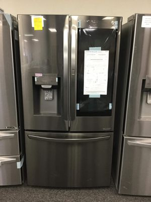 New LG Black Stainless Instaview French Door Refrigerator for Sale in Arlington, TX