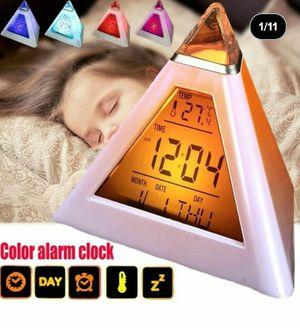 Brand New Color Digital Clock for Sale in Detroit, MI