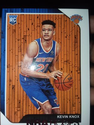 2018-2019 Rookie Card Knicks Kevin Knox Basketball Card for Sale in Alexandria, VA