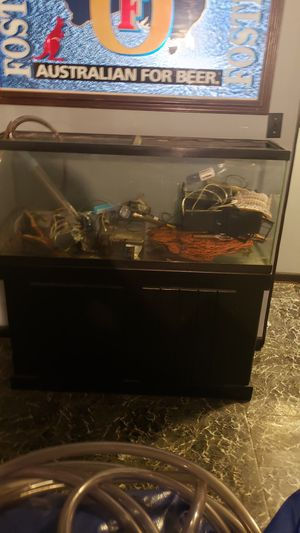 55 gallon fish tank for Sale in Brunswick, OH