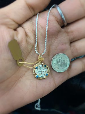 Atocha coin necklace for Sale in Key Biscayne, FL