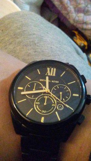Michael Kors stainless steel watch for Sale in Marysville, WA