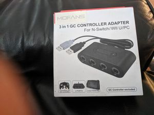 Switch GameCube controller adapter for Sale in Hollywood, FL