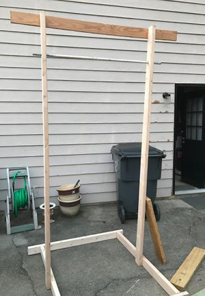 Homemade pull up bar for Sale in Lawrenceville, GA