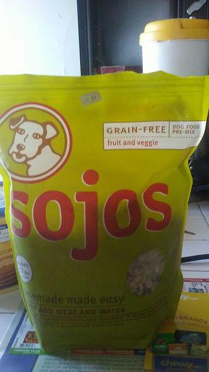 Sojos premix dog food for Sale in Menomonie, WI