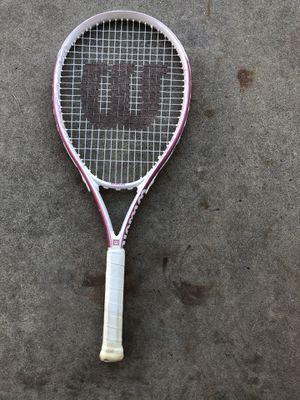 Wilson women's tennis racket with bag for Sale in Denver, CO