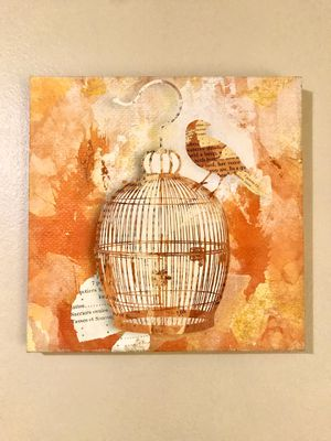 Don't Cage the Bird Canvas for Sale in Huachuca City, AZ