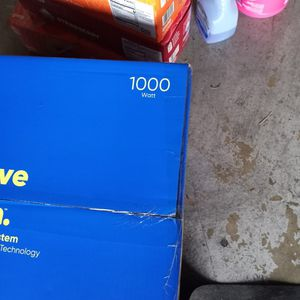 Onn Groove Cd Stereo System With Bluetooth 1000 Watts Still In Box Brand New $200 for Sale in Vallejo, CA