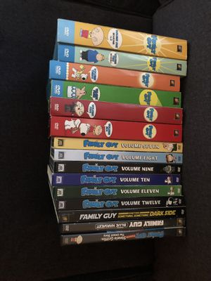 Family guy 1-12 for Sale in Tracy, CA