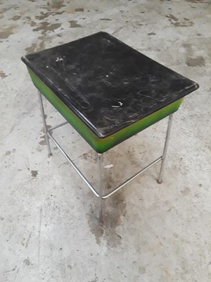 Kids old school desk with candy paint for Sale in Bakersfield, CA