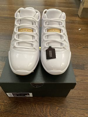 "Air Jordan 11 low Golf ""Metallic Gold"" for Sale in Holmdel, NJ"