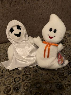 Beanie babies Halloween ghosts spooky & sheets for Sale in Las Vegas, NV