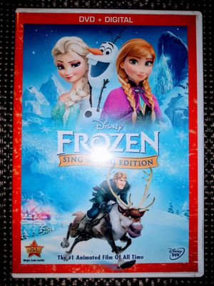 Walt Disney DVD Movie Frozen Sing A Long Version for Sale in Pinellas Park, FL