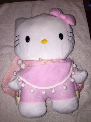 """Hello Kitty Sanrio Backpack 13"""" x 9"""" With Small Pouch for Sale in Joint Base Pearl Harbor-Hickam, HI"""