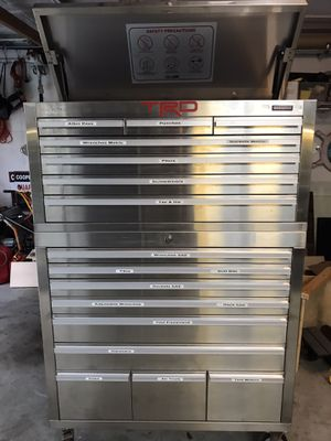 Stainless steel tool box top and bottom for Sale in Davie, FL