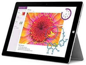Very lightly pre-owned Silver Surface 3 Tablet for Sale in Tallahassee, FL