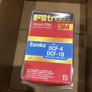 3M Eureka Vacuum Filter DCF-4,DCF-18 for Sale in East Brunswick, NJ