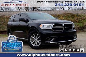 2015 Dodge Durango for Sale in Dallas, TX