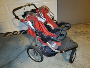 Schwinn turismo double stroller like new for Sale in Bellevue, WA