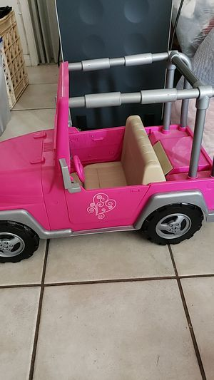 Toy Barbie jeep for Sale in Whittier, CA