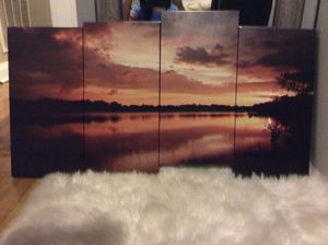 Sunset Canvas for Sale in Cicero, IL