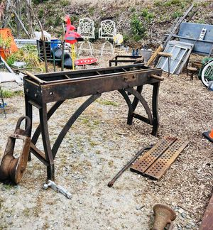 Antique Cast Iron Machine Base for Sale in New Bedford, MA
