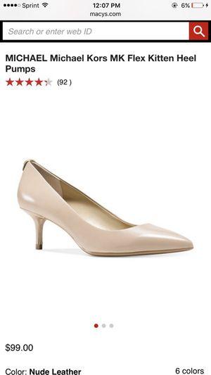 Michael kors heels size 9 for Sale in Sanger, CA