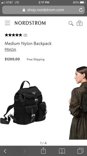 Prada backpack bag for Sale in San Antonio, TX