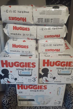 Huggie size 3 for Sale in Vancouver, WA
