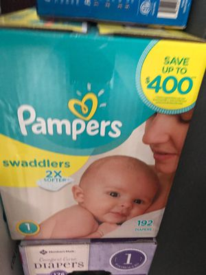 Pampers size 1 for Sale in Dallas, TX