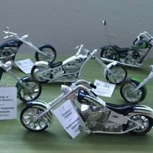 Custom hand-painted Ltd. Edition Seahawks Choppers all with COA mint & DOZENS more items here for Sale in Kirkland, WA