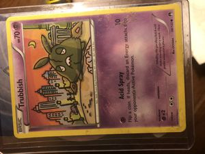 Trubbish Pokémon card for Sale in Wadena, MN